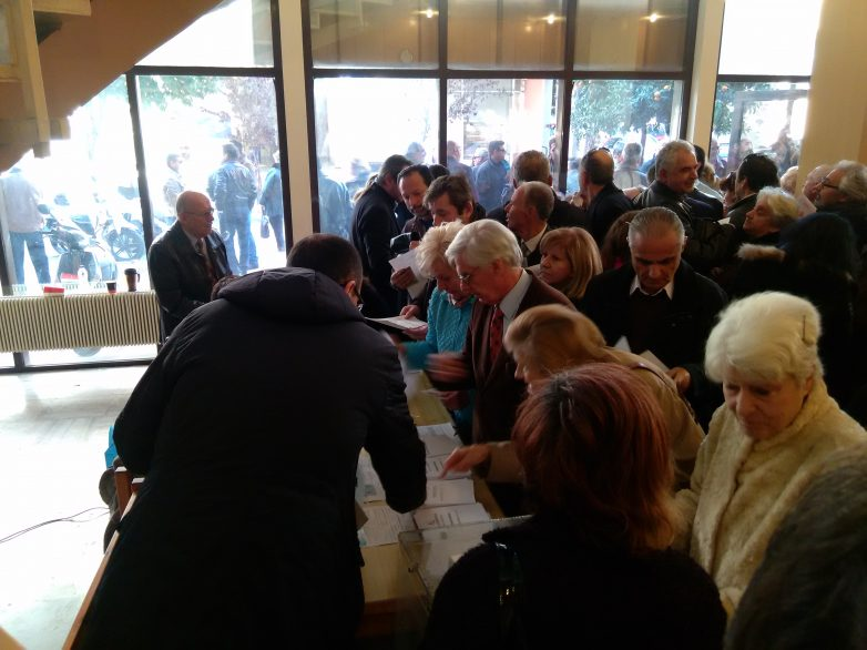 Ψηφίζουν σήμερα στη Μαγνησία οι ψηφοφόροι της ΝΔ για την ανάδειξη νέου προέδρου
