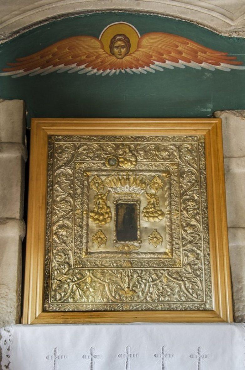 Στο Ναό της Αγίας Βαρβάρας η Ιερά Εικόνα της Παναγίας Ολυμπιώτισσας