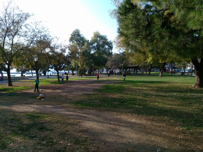 Έλεγχοι  στο πάρκο του Αγ. Κωνσταντίνου  από το Λιμεναρχείο  Βόλου