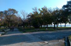 Eργασίες συντήρησης στο πάρκο του Αγ. Κωνσταντίνου