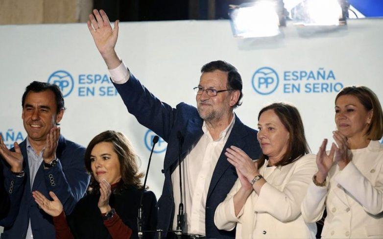 «Πύρρειος νίκη» για το Λαϊκό Κόμμα στην Ισπανία