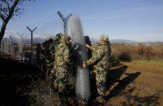 Δεύτερο φράχτη στα σύνορα με την Ελλάδα υψώνει η ΠΓΔΜ