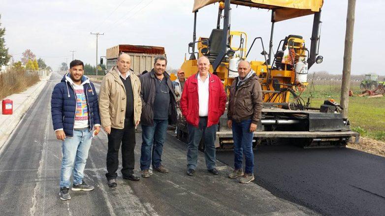 Ολοκληρώνεται και παραδίδεται το έργο ασφαλτόστρωσης οδών  Στεφανοβικείου
