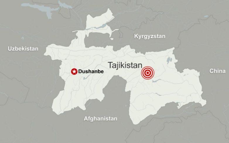 Σεισμός 7,2 ρίχτερ στο Τατζικιστάν