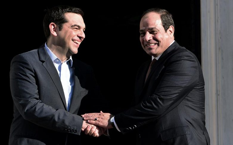 Τσίπρας: Νέα περίοδος στενής συνεργασίας Ελλάδας και Αιγύπτου