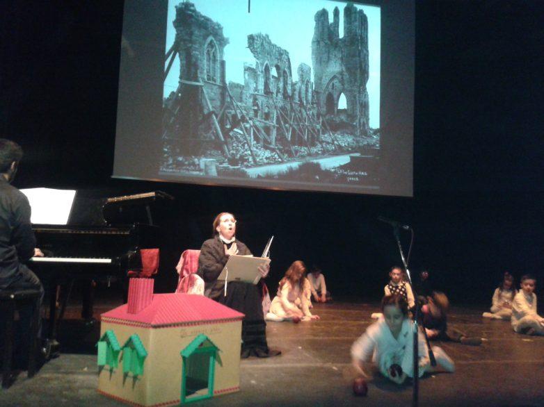 Συγκλονιστική η παράσταση «Βραδινό Σκασιαρχείο» του Δημοτικού Ωδείου Βόλου