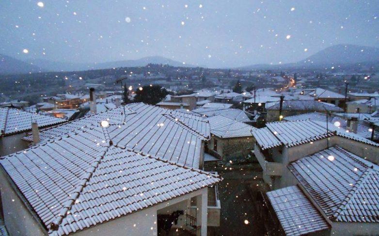 Το νέο έτος φέρνει τον χειμώνα στην Ελλάδα