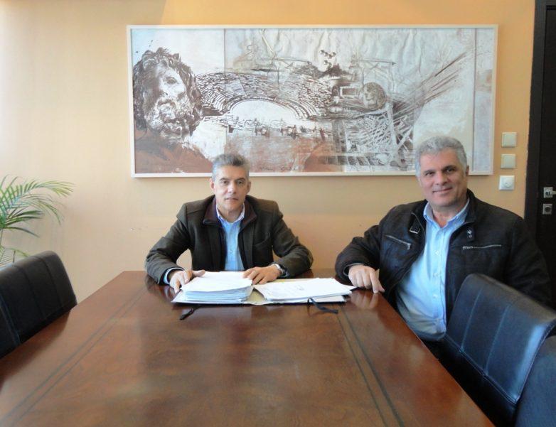 Συνάντηση περιφερειάρχη Θεσσαλίας με δήμαρχο Παλαμά για έργα και ζητήματα του Δήμου