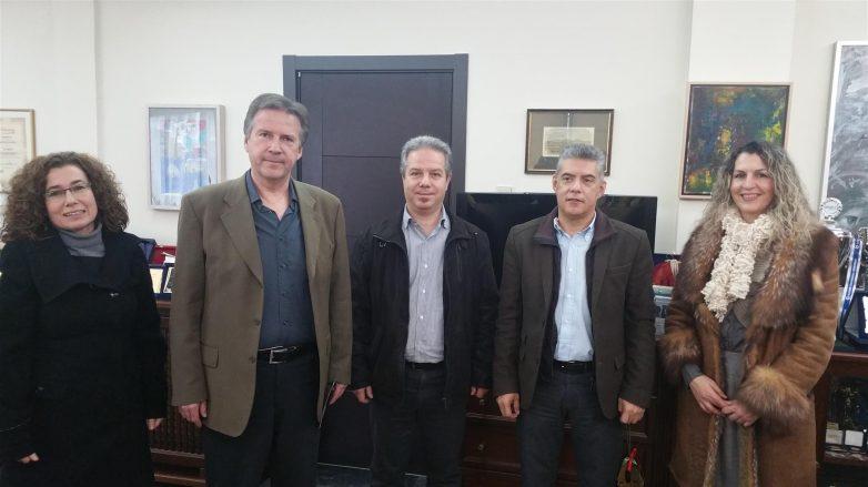 Συνάντηση του περιφερειάρχη Θεσσαλίας με το σύλλογο «Ο Ιπποκράτης στη Λάρισα»