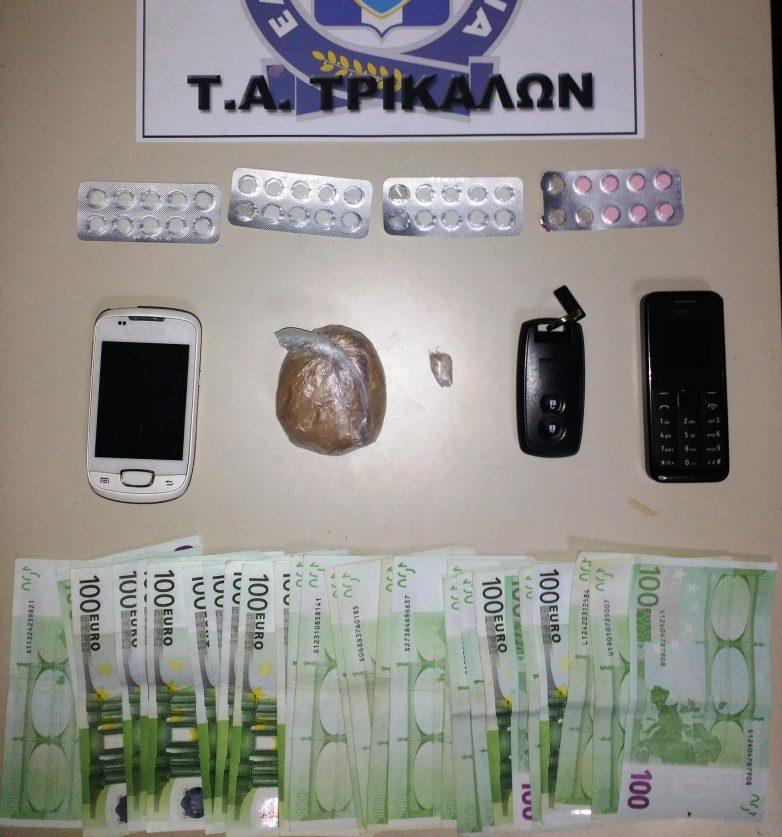Συλλήψεις στα Τρίκαλα για ηρωίνη και κλοπές