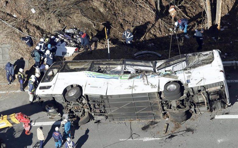 Ιαπωνία: Τουλάχιστον 14 νεκροί σε αυτοκινητιστικό δυστύχημα
