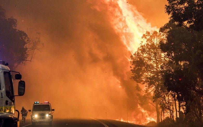 Δύο νεκροί από πυρκαγιά στην Αυστραλία