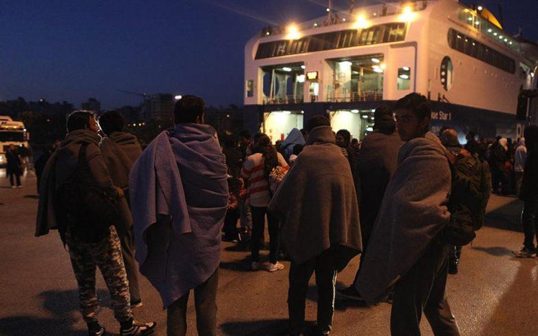 Συνεχίζεται η άφιξη μεταναστών στην Αθήνα