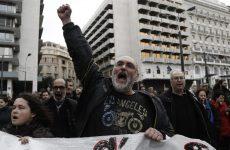 Μαζική η συμμετοχή στο συλλαλητήριο της ΓΣΕΕ-ΑΔΕΔΥ
