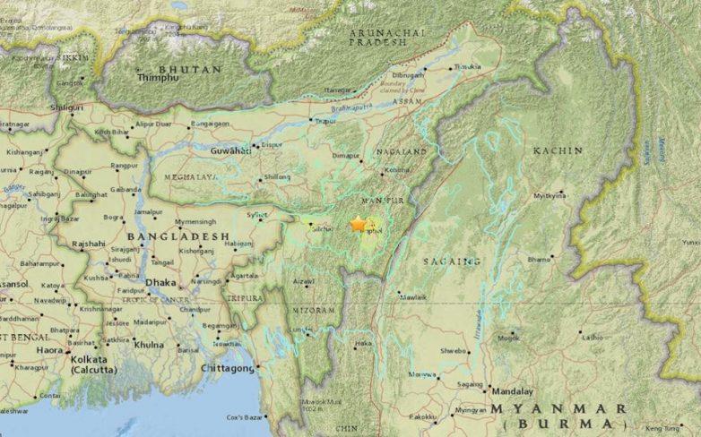 Ινδία: Νεκροί και τραυματίες από τον σεισμό 6,8 R στα σύνορα με την Μιανμάρ
