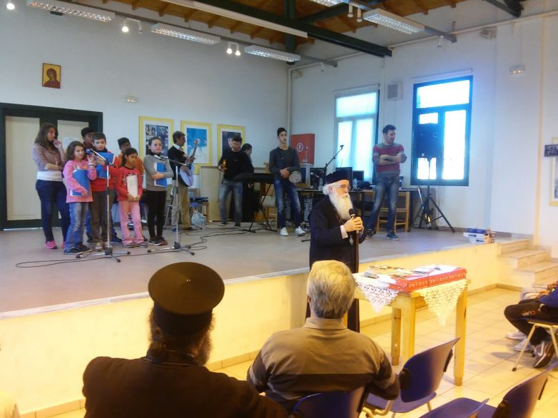 """Ενδιαφέρουσα καλλιτεχνική εκδήλωση στις φυλακές Kασσαβέτειας από τον """"Eσταυρωμένο"""""""
