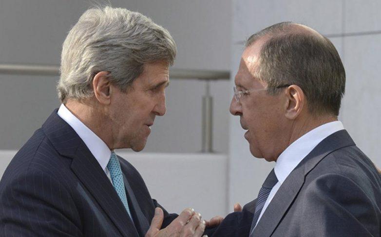 Κέρι και Λαβρόφ για διαπραγματεύσεις