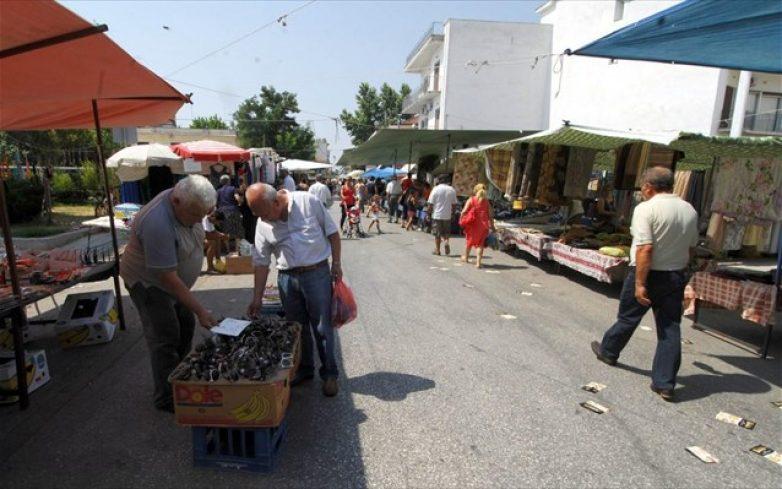 Έλεγχοι και κατασχέσεις στη Λαϊκή Αγορά