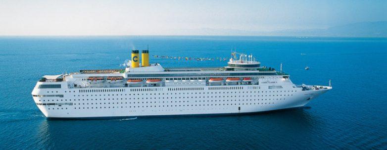 Στο Βόλο το κρουαζιερόπλοιο Costa Neoclassica