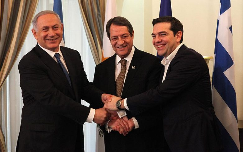 Ιστορική τριμερής ανάμεσα σε Ελλάδα, Κύπρο και Ισραήλ