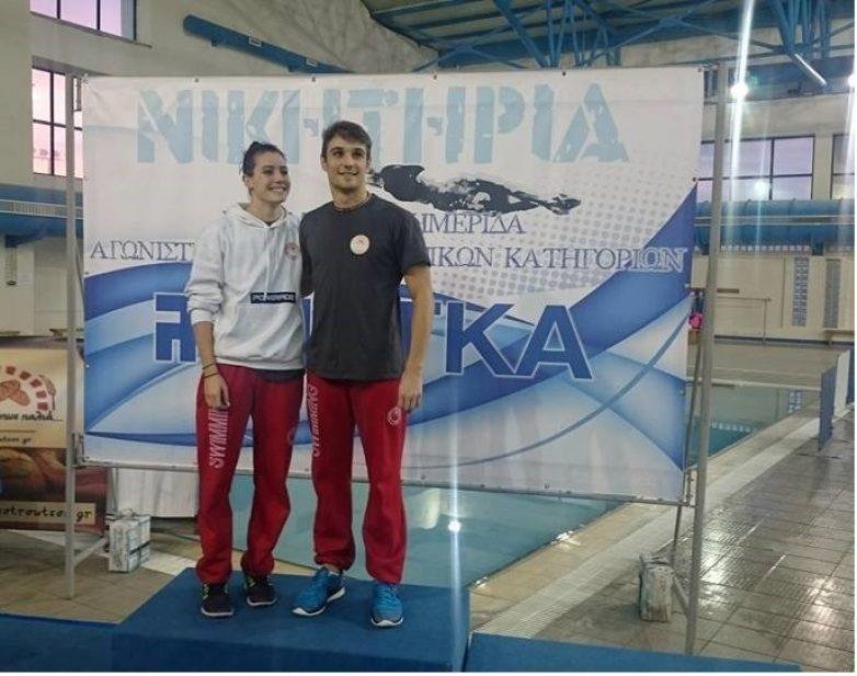 Σταυρούλα Καραντάκου και  Γιάννης Στάμος καλύτεροι αθλητές στα «ΝΙΚΗΤΗΡΙΑ 2016»