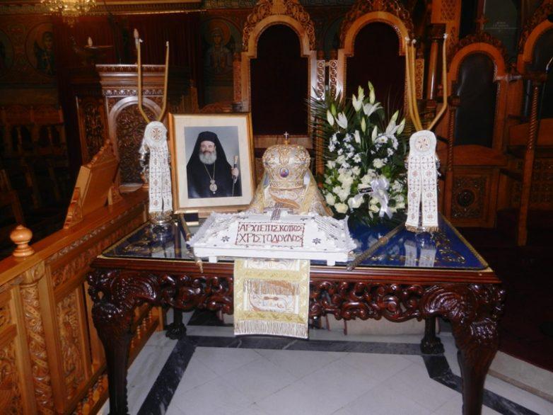 «Ο Αρχιεπίσκοπος Χριστόδουλος θυσιάστηκε για την δόξα της Εκκλησίας»