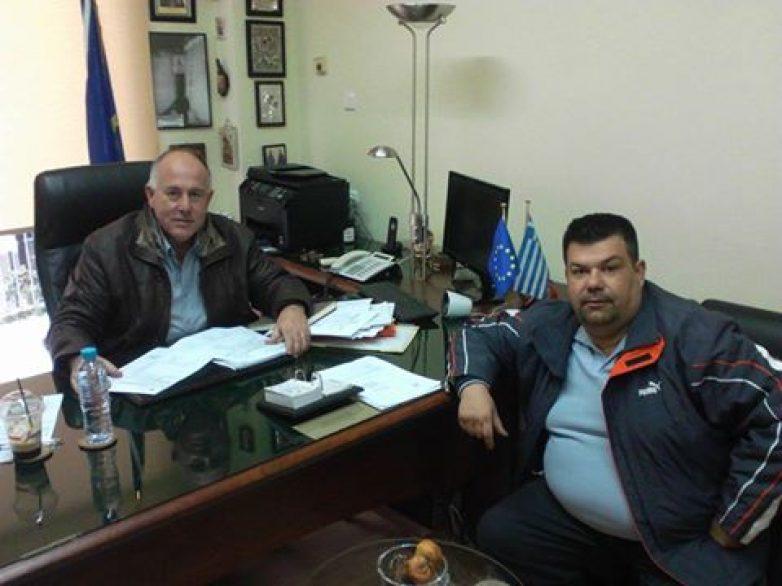 Ενημέρωση δημάρχου Ρ. Φεραίου για δράσεις της Α.Ε.ΜΑ.