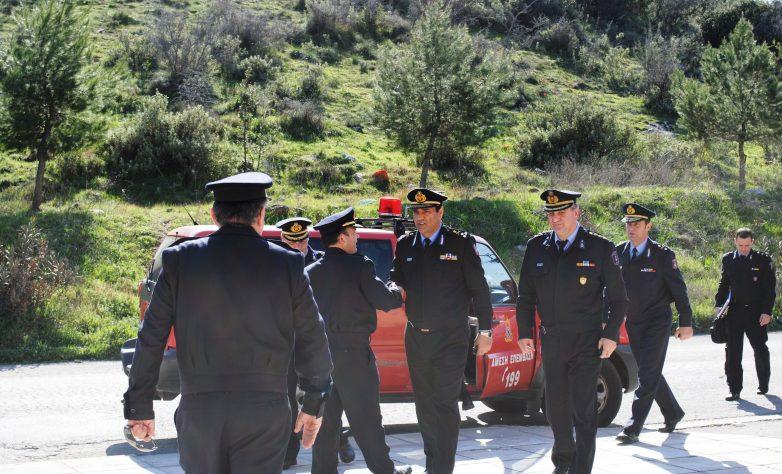 Βόλο  και Λάρισα επισκέφθηκε ο Αρχηγός της Πυροσβεστικής