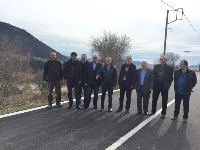 Δόθηκε στην κυκλοφορία από την Περιφέρεια Θεσσαλίας ο δρόμος Καλλιπεύκη – όρια Ν. Πιερίας