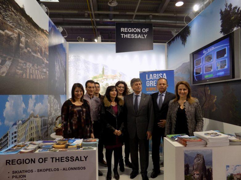 """Τουριστικό παρών της Περιφέρειας Θεσσαλίας στην έκθεση """"Holiday & Spa Expo"""" στη Σόφια"""