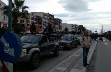 Συλλαλητήριο αγροτών Πηλίου και Αερινού στο Βόλο
