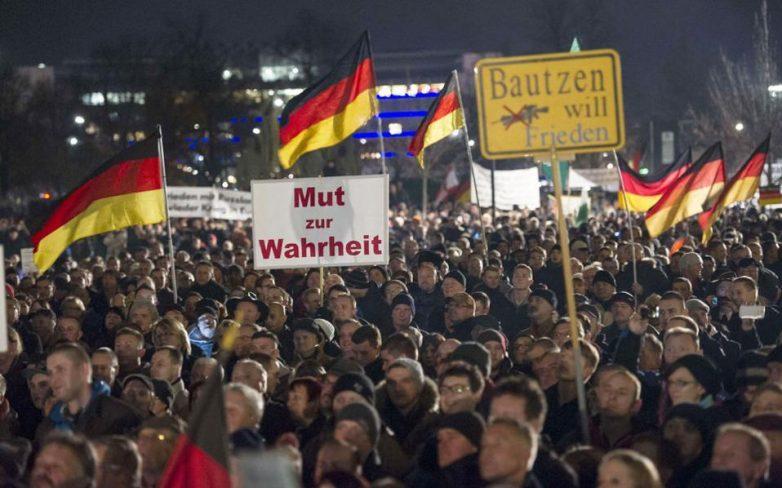 Αντιμεταναστευτικές συγκεντρώσεις του Pegida σε πόλεις της Ευρώπης