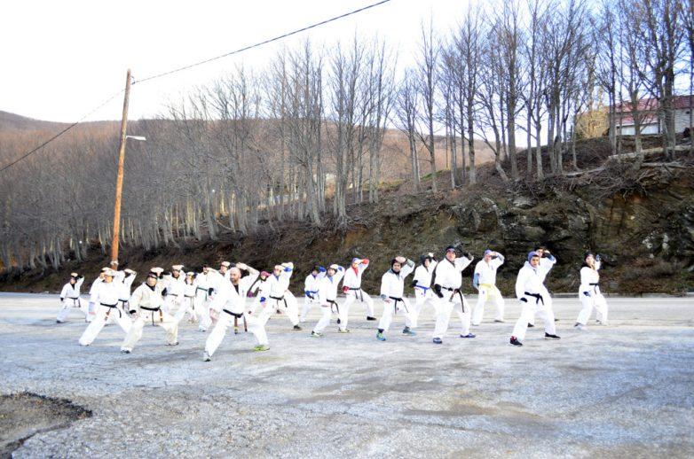 Πραγματοποιήθηκε το 5ο WINTER CAMP SHINKYOKUSHINKAI KARATE στα Xάνια Πηλίου