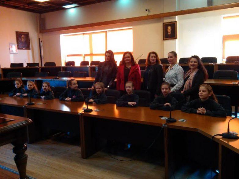 Συνάντηση  αντιδημάρχου Βόλου Γ.Μποντού – Τοκαλή με   μέλη της «Χρυσής» ομάδας Αισθητικής Ομαδικής Γυμναστικής της Ρωσίας