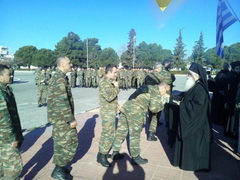 Επίσκεψη του Μητροπολίτου στην 32α Ταξιαρχία Πεζοναυτών