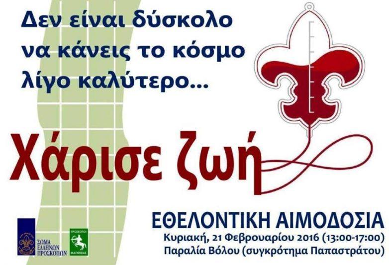 Eκδήλωση για την Παγκόσμια Ημέρα Σκέψης & Φιλίας  από τους Προσκόπους Μαγνησίας