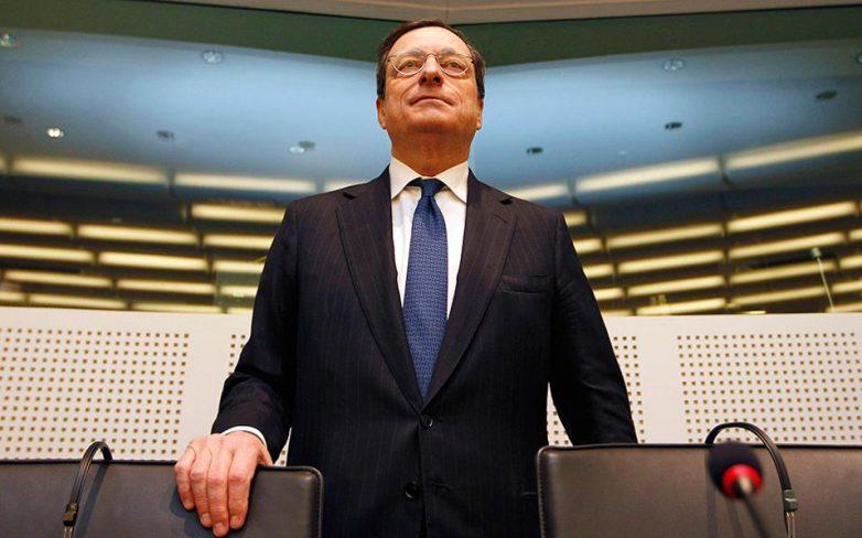 Ντράγκι: Βιωσιμότητα χρέους και ολοκλήρωση αξιολόγησης οι προϋποθέσεις για το QE