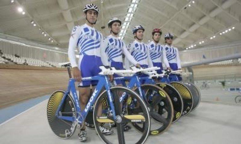 Στο Βόλο η Εθνική Ομάδα Ποδηλασίας Πίστας
