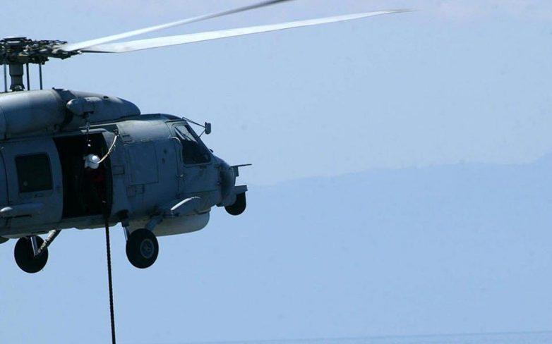 Χάθηκε ελικόπτερο του Πολεμικού Ναυτικού-Εντοπίστηκαν συντρίμμια