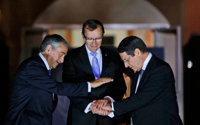 Οριστικοποίηση της ατζέντας των συνομιλιών για το Κυπριακό