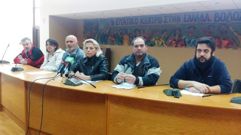 Σύσκεψη του ΠΑΜΕ στο ΕΚΒ για κλιμάκωση κινητοποιήσεων