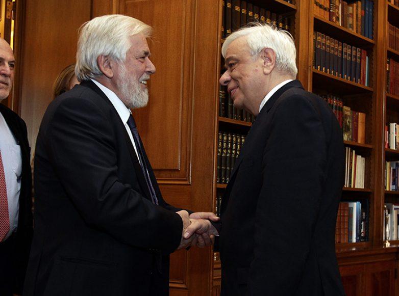 Συνάντηση πρόεδρου Ευρωπαϊκής Οικονομικής και Κοινωνικής Επιτροπής με τον πρόεδρο της Ελληνικής Δημοκρατίας