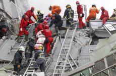 Φονικός σεισμός συγκλόνισε την Ταϊβάν