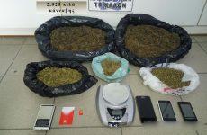 Συνελήφθη στα Τρίκαλα για κατοχή μεγάλης ποσότητας κάνναβης