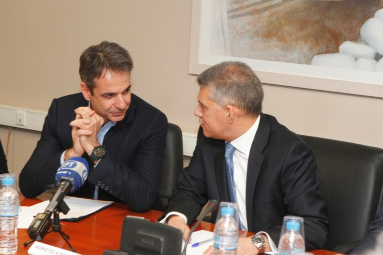 Συνάντηση  προέδρου της ΝΔ με το Δ.Σ της ΕΝΠΕ