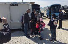 Δεν τους άρεσε  το Αερινό και έφυγαν πεζή  οι Σύριοι