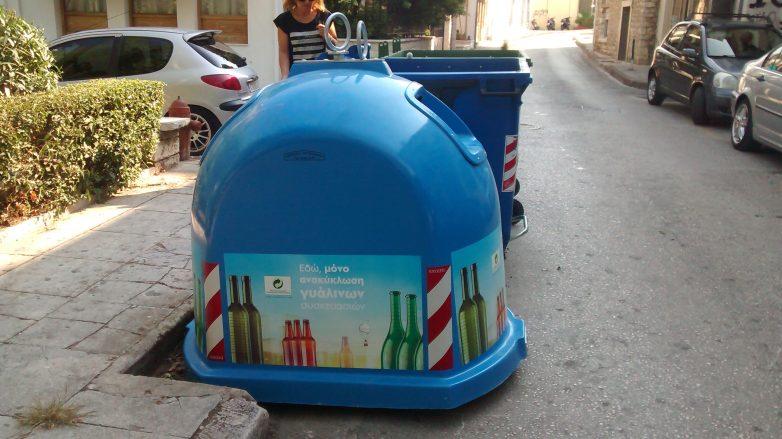 Τον Απρίλιο οι κώδωνες ανακύκλωσης γυαλιού στο  Βόλο