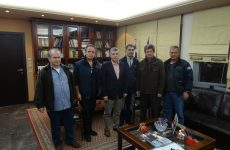 Συνάντηση  περιφερειάρχη Θεσσαλίας με το Δ.Σ. της Ένωσης Ραδιοερασιτεχνών Θεσσαλίας
