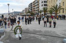 Η Μαρίνα Χρυσοβελώνη  εκπρόσωπος της κυβέρνησης στην παρέλαση