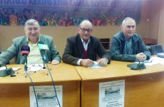 Πανσυνταξιουχική συγκέντρωση στη Λάρισα